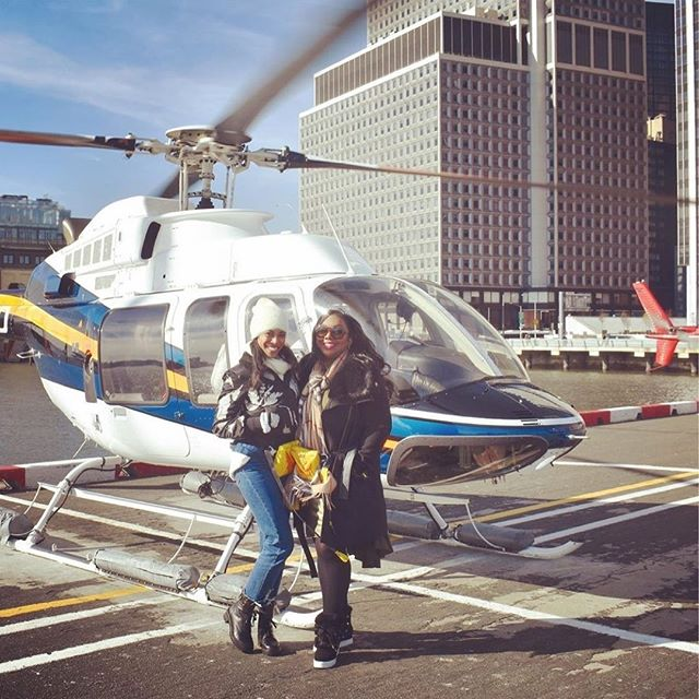 Thanks so much @alexandria_in_california and @dennaedumas for sharing such a great review of your experience with us!! We loved having you too! • INCREDIBLE! 🙌👏😍If and when in NYC, you must do a helicopter tour with heli.ny! Not only was the helicopter ride smooth and seamless…the staff members are phenomenal! We had the most amazing time. Thank you! 🚁🙌👯♀️#helicopter #nyc #manhattan #manhattanskyline #bestfriends #pilot #catchflightsnotfeelings #genuine #triedandtrue #realreview