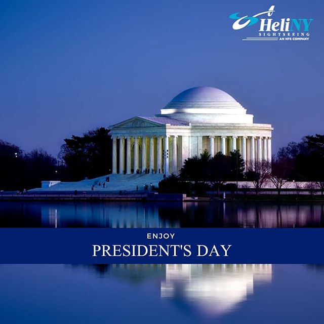 Enjoy your President's Day, everyone!  -The team at HeliNY